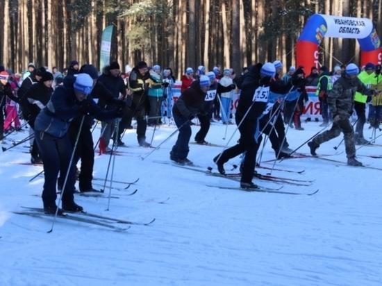 Свыше трех тысяч ивановцев приняли участие в «Лыжне России – 2020»