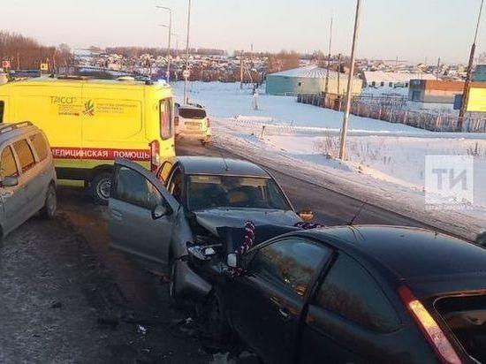 В ДТП на трассе Казань — Малмыж пострадали 6 человек