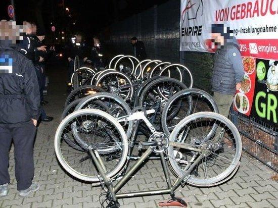 В Нойкельне арестована группа людей, подозреваемых в воровстве велосипедов