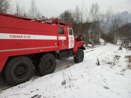 За выходные в Туле и области произошло 6 пожаров