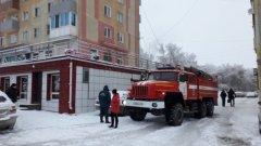 Пожар в кафе Белово
