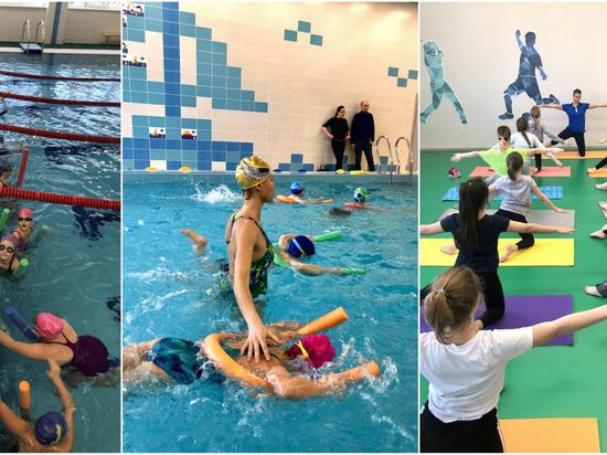 В Иванове победитель Чемпионата России по плаванию Александра Романенкова провела для юных спортсменов мастер-класс