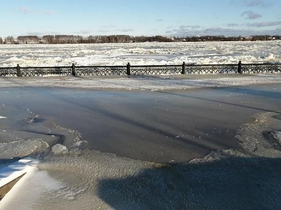 Вода в Ярославле сошла на 1метр 20 см