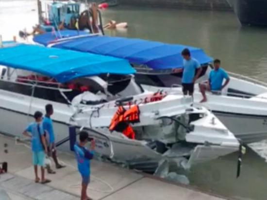 При столкновении катеров в Таиланде погибли двое детей из России