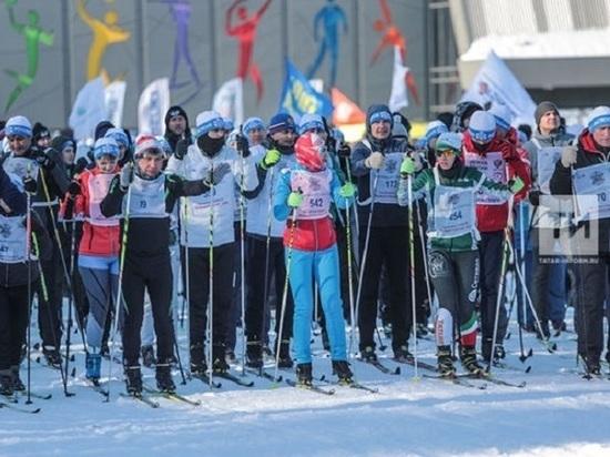 Более 173 тысяч жителей Татарстана стали участниками «Лыжни России»