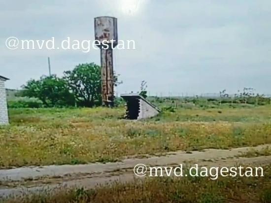 В Каякентском районе мужчина похитил водонапорную башню