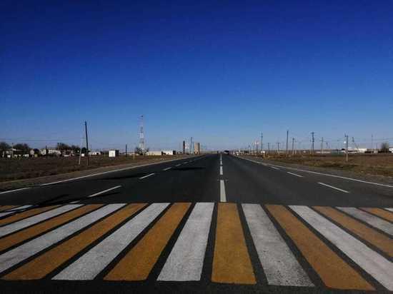 В Калмыкии обновлено 75 километров дорог