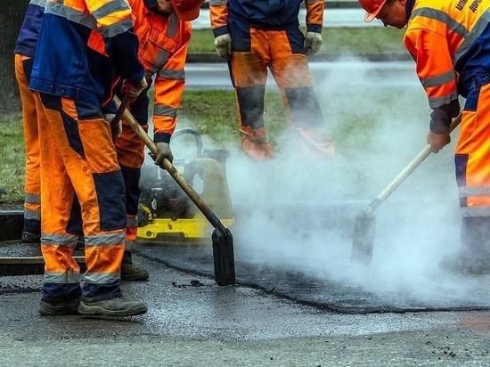 Ночной ремонт дорог продолжается в Йошкар-Оле