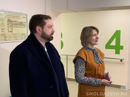 Глава Смоленщины посетил Геронтологический центр «Вишенки»