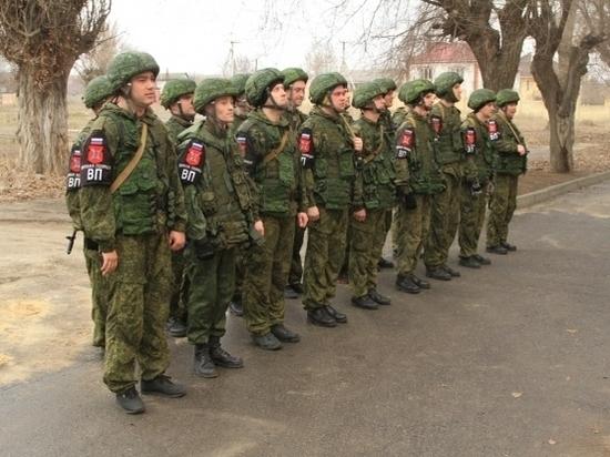Под Волгоградом военные полицейские борются за победу в конкурсе