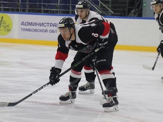 Одному из лидеров ВХЛ ХК«Тамбов» уступил лишь в овертайме