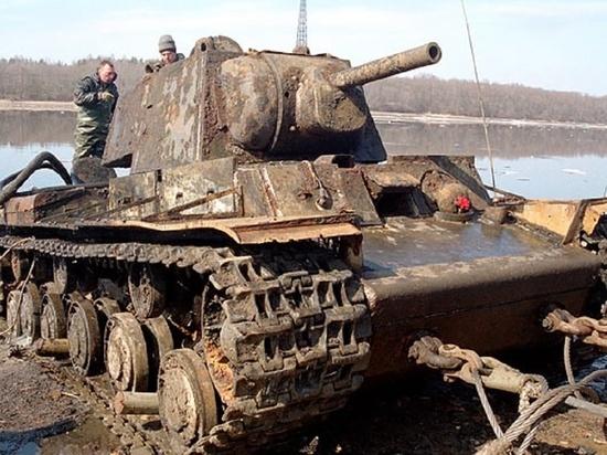 В Курской области со дна Сейма поднимут танк КВ-1
