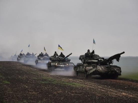 На Украине посчитали технику, подбитую в Донбассе