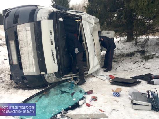 В Ивановской области произошла вторая за сутки авария с участием автобуса