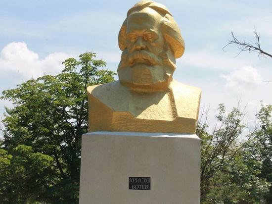 В Одесской области переименовали бюст Карла Маркса