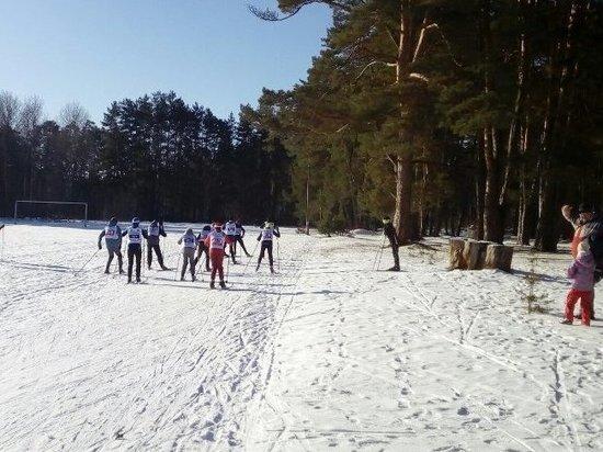 Четыре десятка юных серпуховских лыжников боролись за медали Открытого первенства