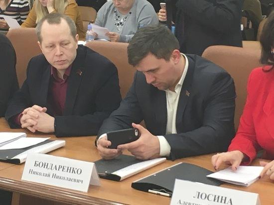Депутаты Бондаренко и Антонов снова поссорились