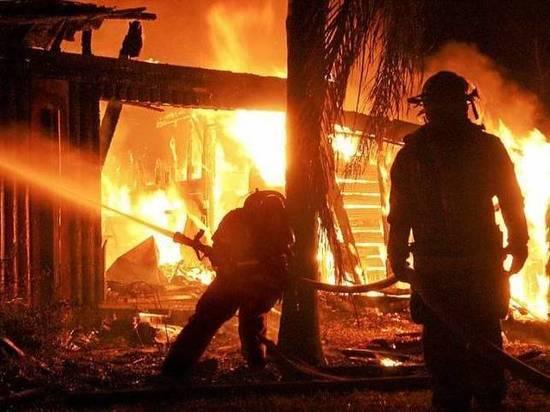 Пожар в Марий Эл произошел из-за неисправности электропроводки