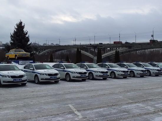 Нижегородская ГИБДД получила новые машины и приборы