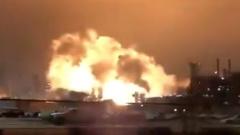 В США произошел крупный пожар на НПЗ: апокалиптические кадры