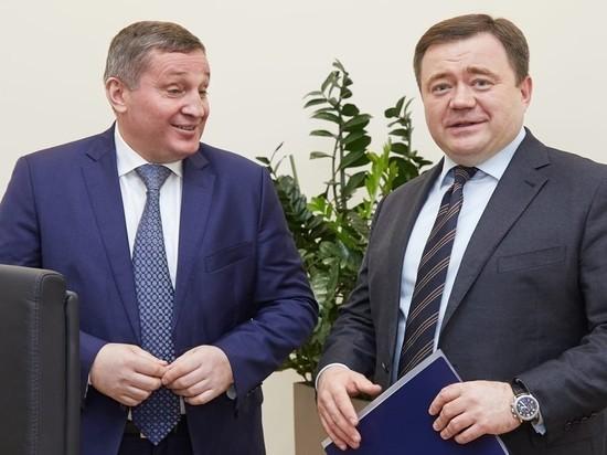 Андрей Бочаров и Петр Фрадков провели переговоры в Москве