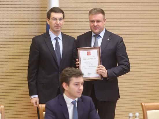 Президент отметил работу губернатора Рязанской области