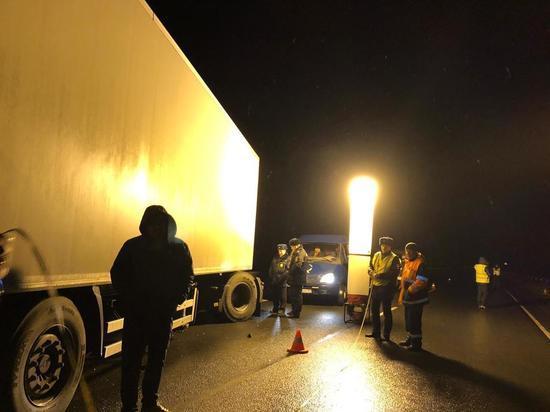 Появилось видео с места ДТП под Пустошкой, в котором погибло 8 человек