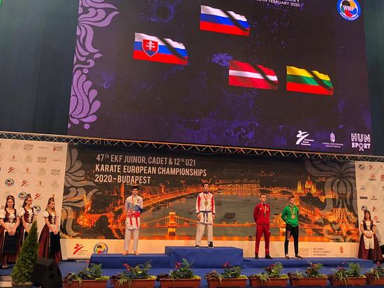 Сочинский каратист завоевал «золото» первенства Европы