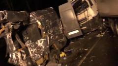Опубликованы кадры жуткого ДТП под Псковом: восемь погибших