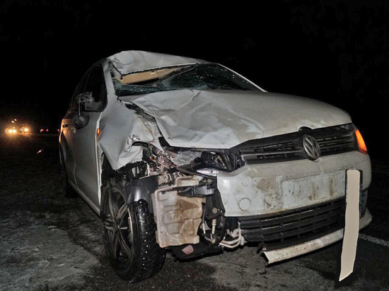 На территории Калмыкии при аварии погиб человек