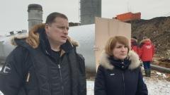 «Все идет строго по графику» - серпуховским журналистам  рассказали о работе на «Лесной»