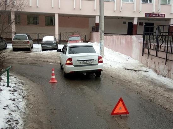 Полицейские ищут очевидцев аварии в Йошкар-Оле