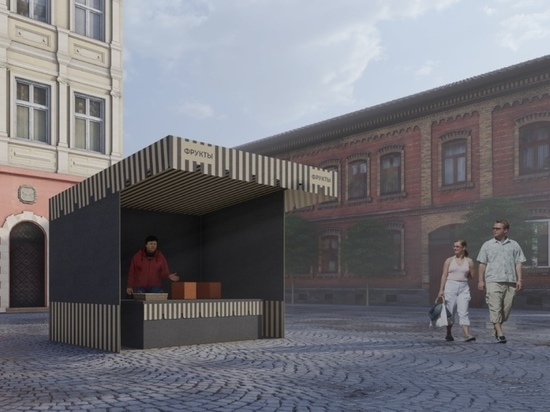Мэрия Краснодара регламентирует внешний вид торговых палаток