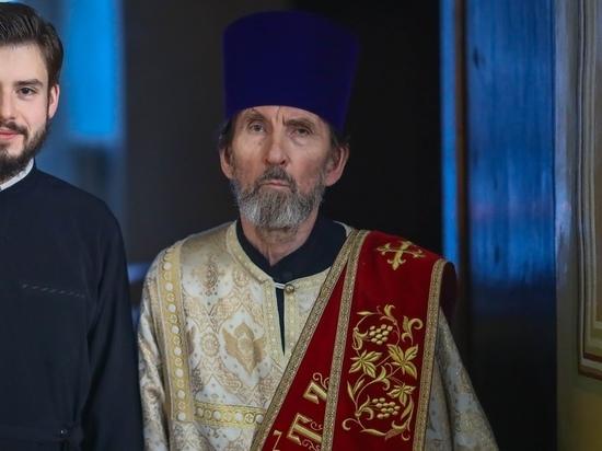 Тульский православный священник отметил полвека службы