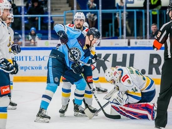 Хоккеисты «Сибири» проиграли «Сочинским леопардам» по буллитам