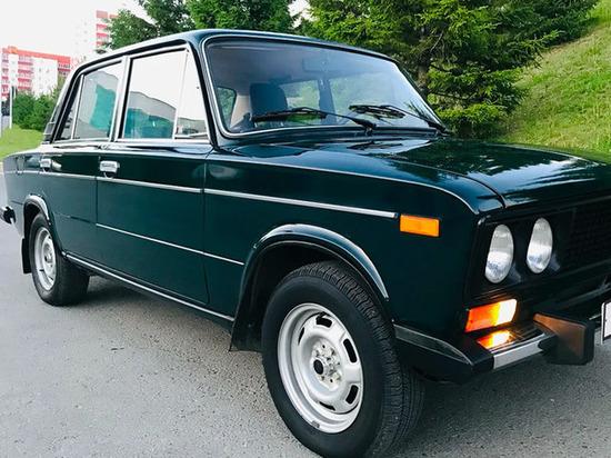 В Сети продают ВАЗ-2106 практически без пробега