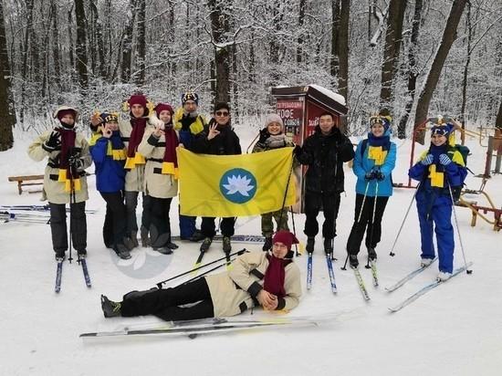 Калмыцкие студенты участвовали в акции «Снежный десант»