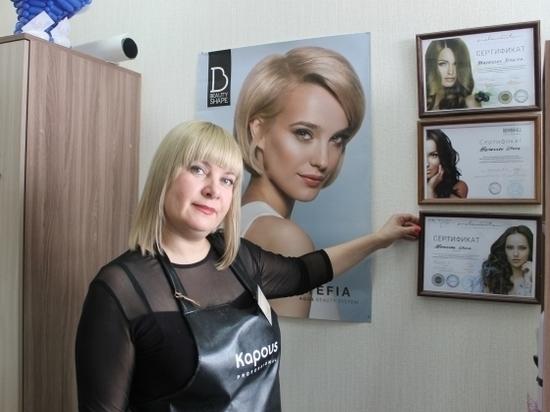 47-летняя парикмахер одной из первых в Волгограде стала самозанятой