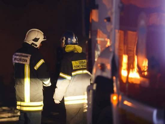 При пожаре в частном доме под Волгоградом погибли два человека