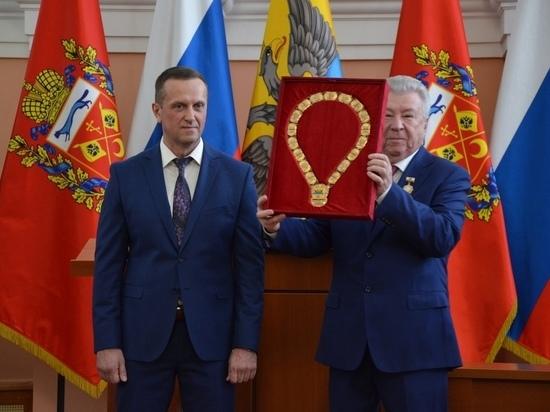 Мэр Оренбурга официально вступил в должность