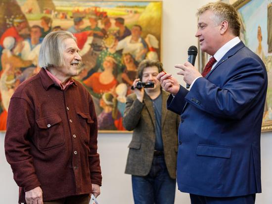 В Воронеже открылась выставка известного художника Виктора Донского