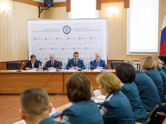 Депутаты Воронежской облдумы приняли участие в заседании коллегии УФНС