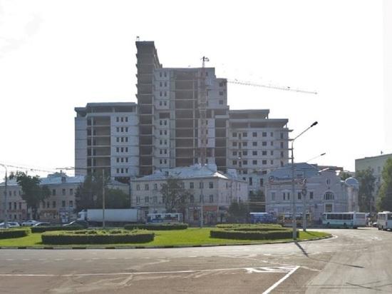 В Ярославле продадут недострой на Октябрьской площади