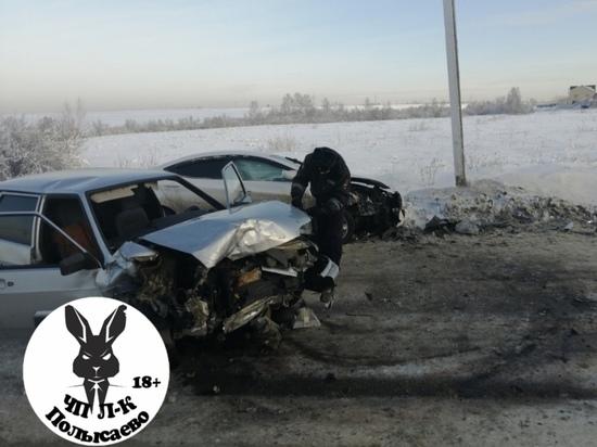 Трое кузбассовцев попали в больницу в тяжелом состоянии после жёсткого ДТП