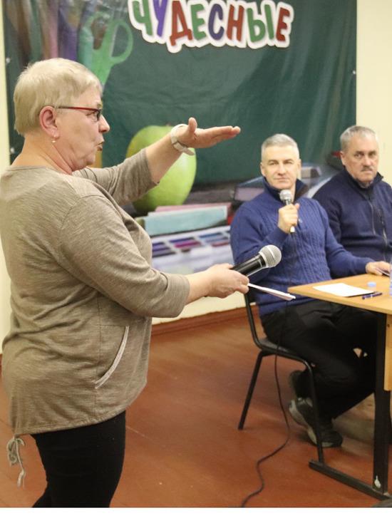 Глава Карелии встретился с жителями Беломорского района