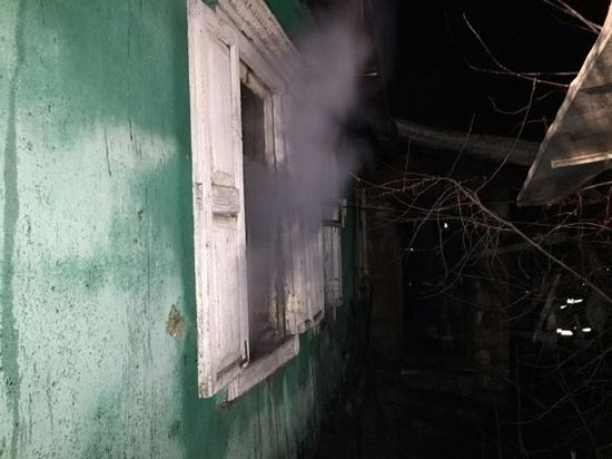 Пожар в Оренбурге унес жизни двух людей