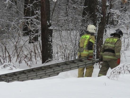 Прибытие пожарных в Сосновый бор озадачило кемеровчан