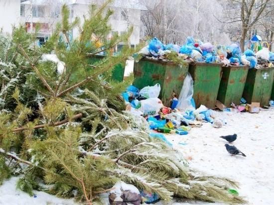 Город Сусман на Колыме зарос стихийными свалками