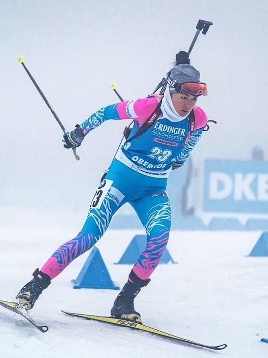 Ямальская биатлонистка выступит на чемпионате мира в Италии