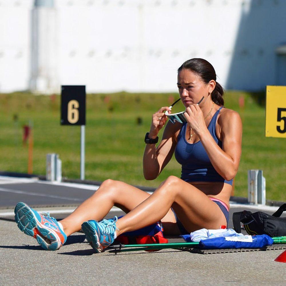 Биатлонистка из ЯНАО участвует в чемпионате мира в Италии: фото спортсменки